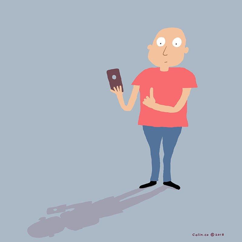 Phone hole