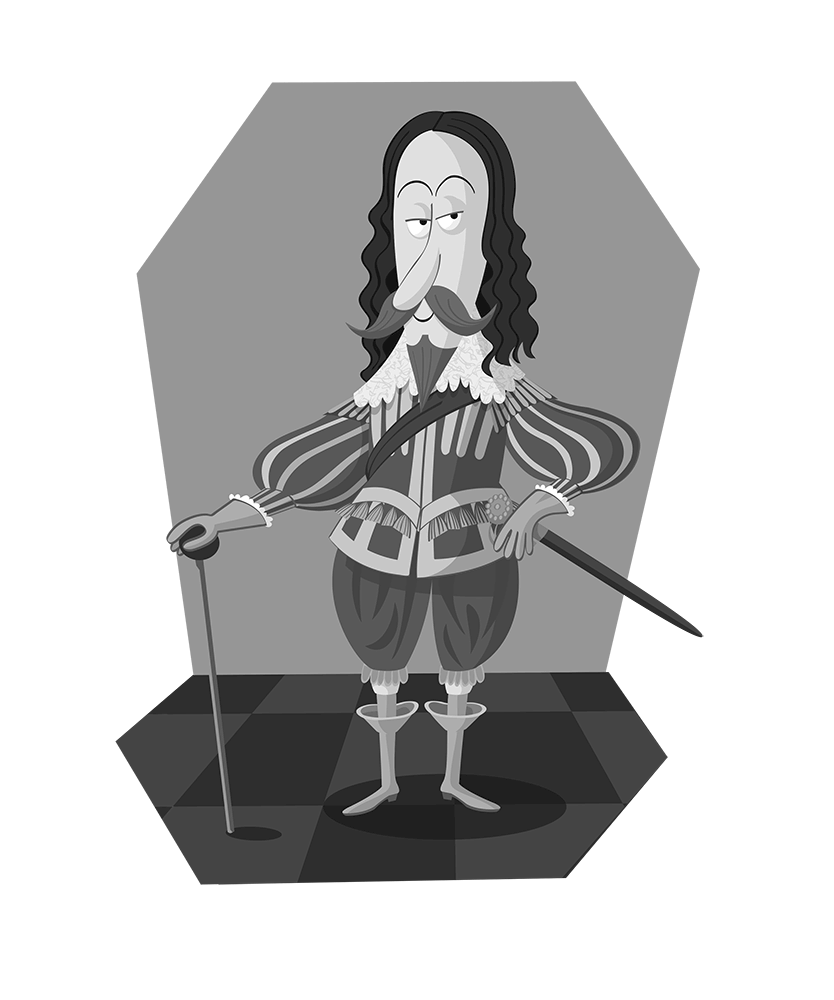 Charles I caricature