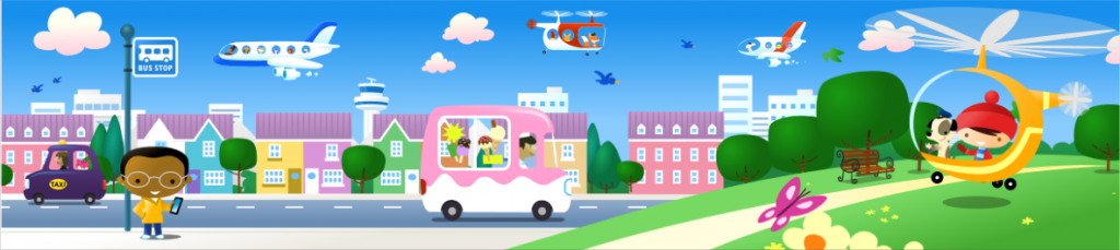 a section of a 27m mural illustrated for gatwick airport.